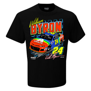 William Byron #24 2018 NASCAR Retro Car T-shirt
