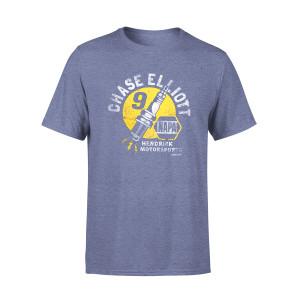Chase Elliott #9 2018 NASCAR NAPA Vintage T-shirt