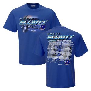 Chase Elliott #9 2019 NASCAR Schedule T-shirt