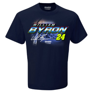 William Byron #24 2019 NASCAR Schedule T-shirt