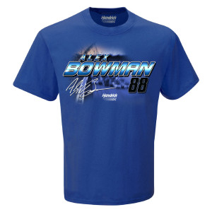 Alex Bowman #88 2019 NASCAR Schedule T-shirt