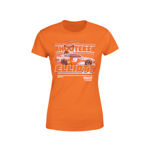 Ladies #9 Hooters T-shirt