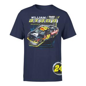 William Byron #24 2019 Full Throttle T-shirt
