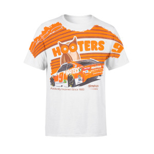 Chase Elliott #9 2019 NASCAR Hooters Total Print T-shirt