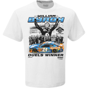William Byron 2020 NASCAR Daytona Duel 2 Win T-shirt