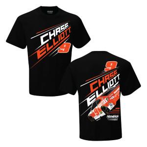Chase Elliott #9 2019 NASCAR Hooters 2-spot T-shirt