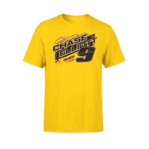 Chase Elliott #9 2019 NASCAR NAPA Yellow T-shirt