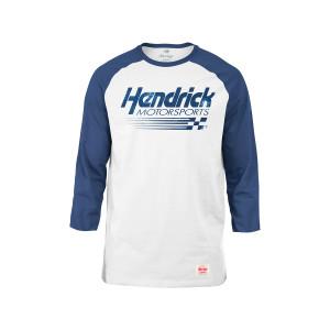 Hendrick Motorsports Ladies Cornbread Blue 3/4 Sleeve