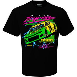 William Byron #24 2019 NASCAR Darlington Throwback T-shirt