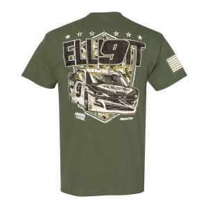 Chase Elliott #9 2020 Military T-shirt