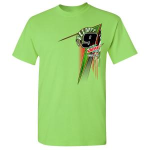Chase Elliott #9 2020 Mtn Dew Neon T-shirt