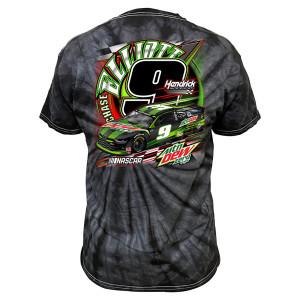 Chase Elliott #9 2020 Mtn Dew Tie-Dye T-shirt