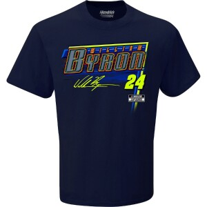 William Byron 2021 Schedule T-shirt