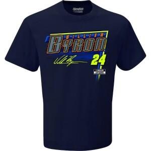 William Byron 2021 Schedule T-shirt