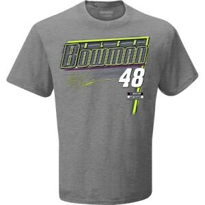 Alex Bowman 2021 Schedule T-shirt