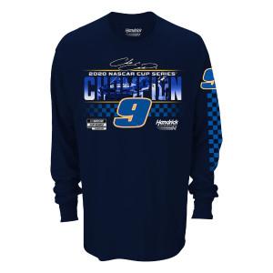 2020 NASCAR Champ Chase Elliott - Men's Longsleeve 2-spot Graphic Tee