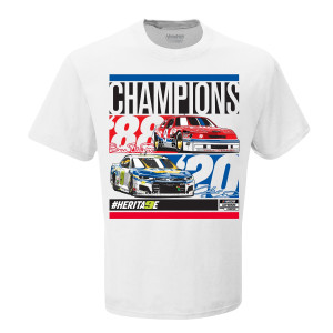 Bill and Chase Elliott #9 Champions Tee