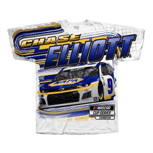 Chase Elliott #9 2021 White NAPA Tee