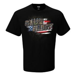 Chase Elliott #9 2021 Camo Patriotic Tee