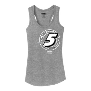 Kyle Larson # 5 Ladies Tank Top