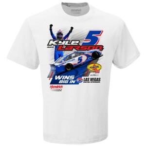Kyle Larson #5 2021 Las Vegas Pennzoil 400 WIN T-shirt