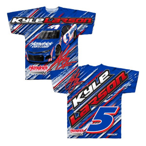 Kyle Larson #5 2021 Sublimated Total Print Tee