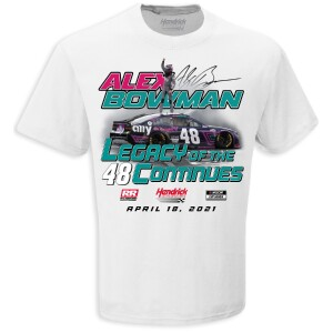 Alex Bowman #48 Toyota Owners 400 WIN T-shirt