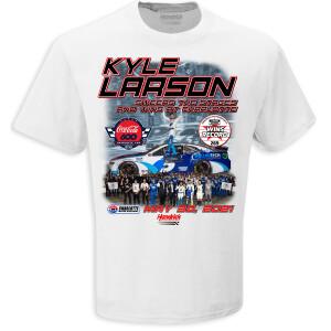 Kyle Larson Coca-Cola 600 NASCAR RACE WIN 1:24 T-shirt