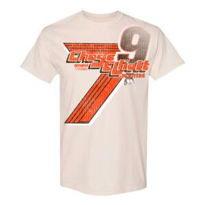 Chase Elliott #9 2021 Darlington Throwback Hooters 1-Spot Ice Tee