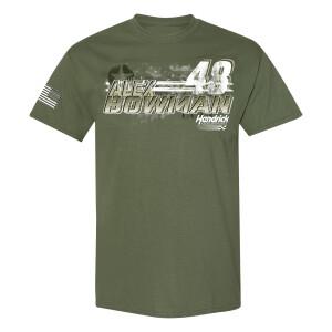 Alex Bowman #48 2021 Ally Military Salute Tee