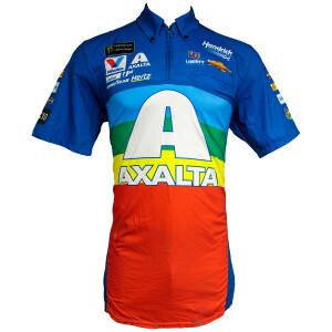 2018 No. 24 Axalta Rainbow Darlington Throwback Track Shirt