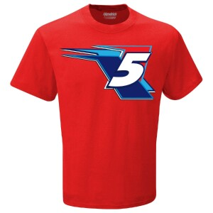 Kyle Larson #5 Valvoline 2-spot Graphic T-shirt