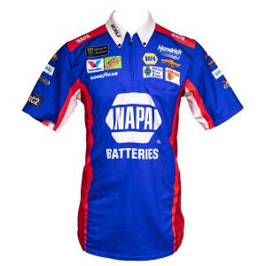 2019 #9 NAPA Batteries Patriotic Track Shirt