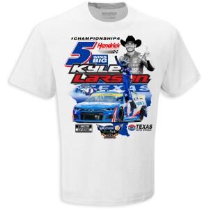 Kyle Larson Autotrader EchoPark Automotive 500 Race WIN T-shirt