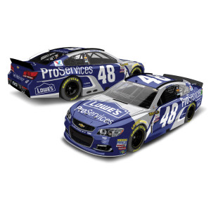 Jimmie Johnson 2016 #48 ProServices 1:24 Scale Nascar Sprint Cup Series Die-Cast