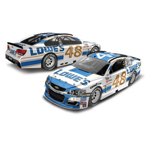 Jimmie Johnson 2017 NASCAR Cup Series No. 48 Lowe's Darlington Throwback 1:64 Die-Cast