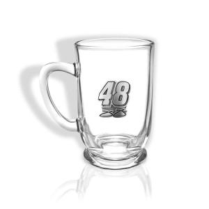 Jimmie Johnson #48 Pewter Created Bolero Glass