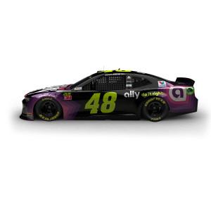 Jimmie Johnson 2019 NASCAR Ally HO 1:24 Die-Cast