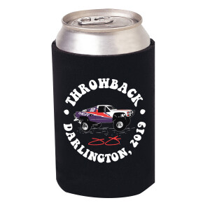 Jimmie Johnson 2019 Darlington Throwback #82 Truck Koozie