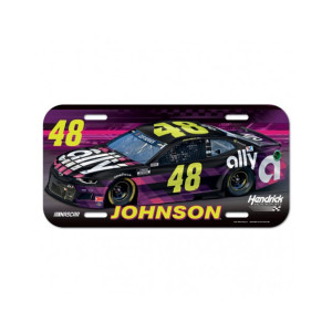Jimmie Johnson #48 2020 ally License Plate