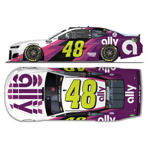 Jimmie Johnson No. 48 Ally Texas NASCAR Cup Series Elite 1:24 - Die Cast