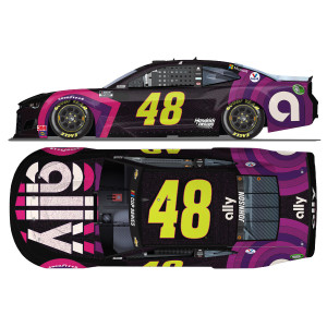 "Jimmie Johnson No. 48 Ally ""Sign for Jimmie"" NASCAR Cup Series HO 1:24 - Die Cast"