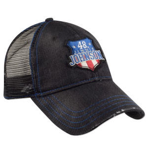 Jimmie Johnson #48 USA Shield Hat