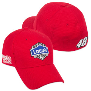 Jimmie Johnson New ERA #48 2015 Lowe's Red Vest Hat