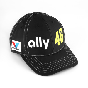 #48 NASCAR Jimmie Johnson Ally Financial Black Hat