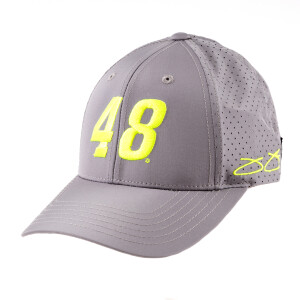 #48 Jimmie Johnson 2019 NASCAR Charcoal Number Hat