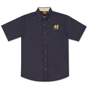 Jimmie Johnson Short Sleeved Twill Shirt
