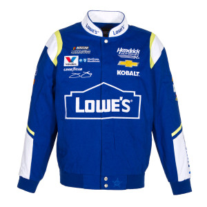 Jimmie Johnson 2017 Lowe's Twill Jacket