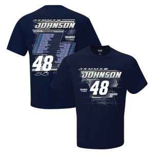 Jimmie Johnson #48 2016 S/S Schedule T-Shirt