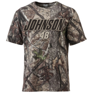 Jimmie Johnson #48 Camo 1 spot Tee
